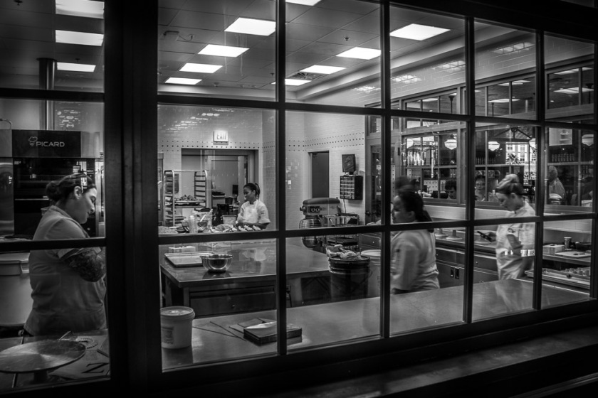 Bakery crowd