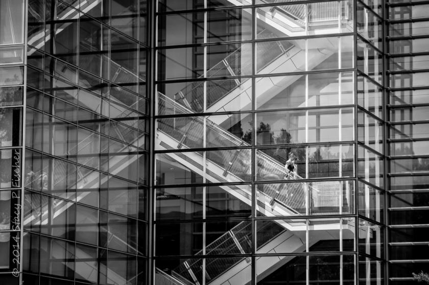 Stairways, Newseum, Washington, DC