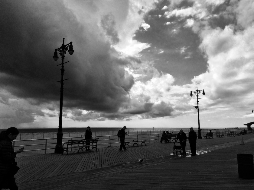 Clouds over Coney Island