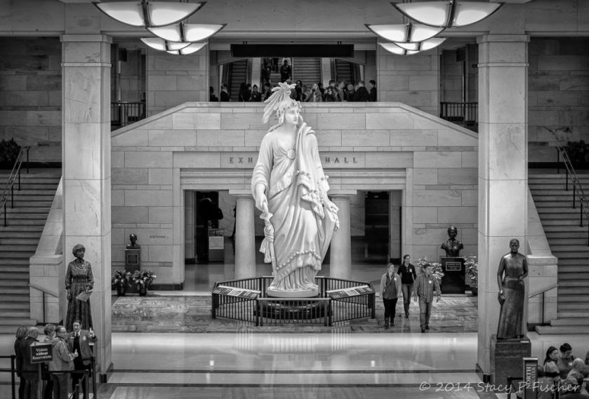Statue of Freedom, United States Capitol Visitor Center, Washington, DC