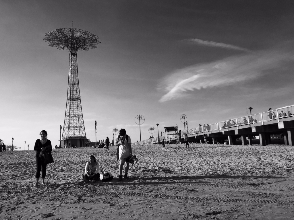 Kids on the Coney Sand