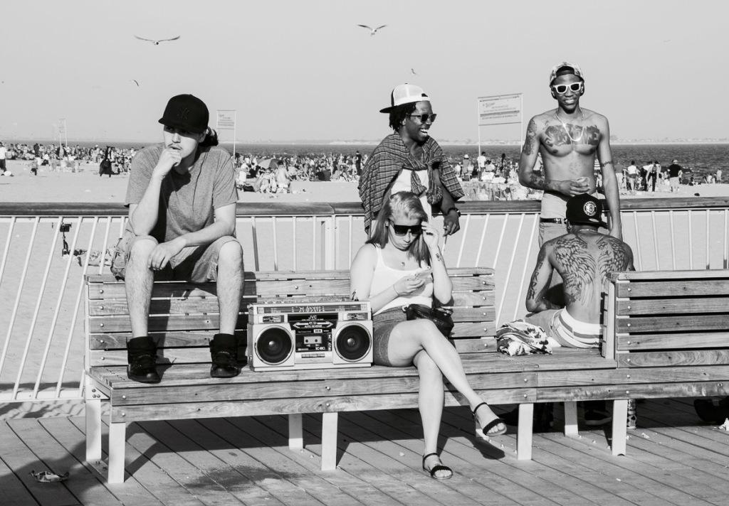 Coney Island Old school kids