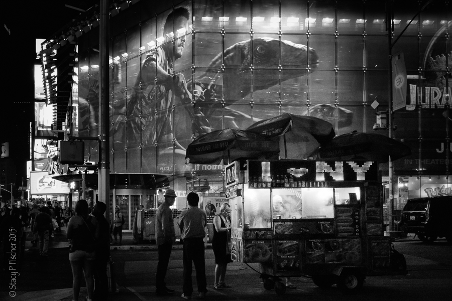 Times Square food vendor