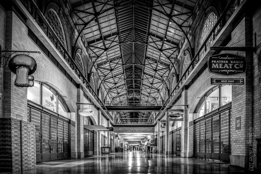 San Francisco Ferry Building interior