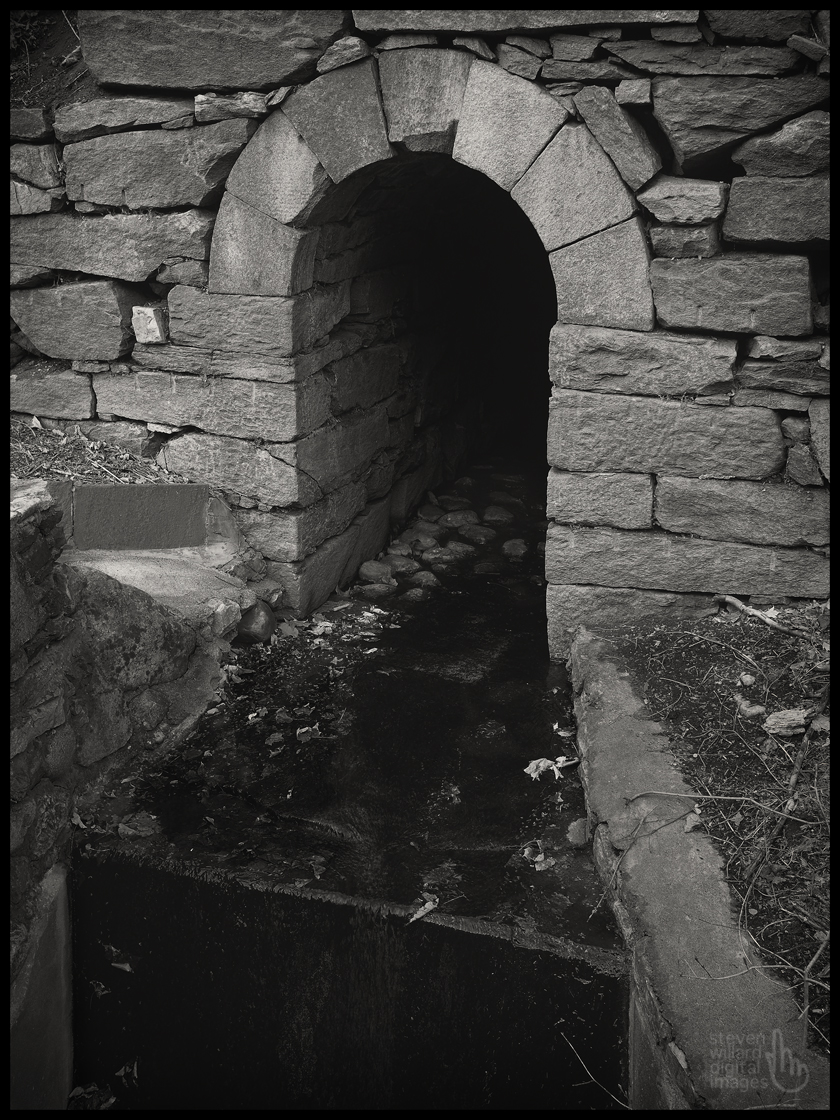 Stone Drain, Brookfield, CT © Steven Willard