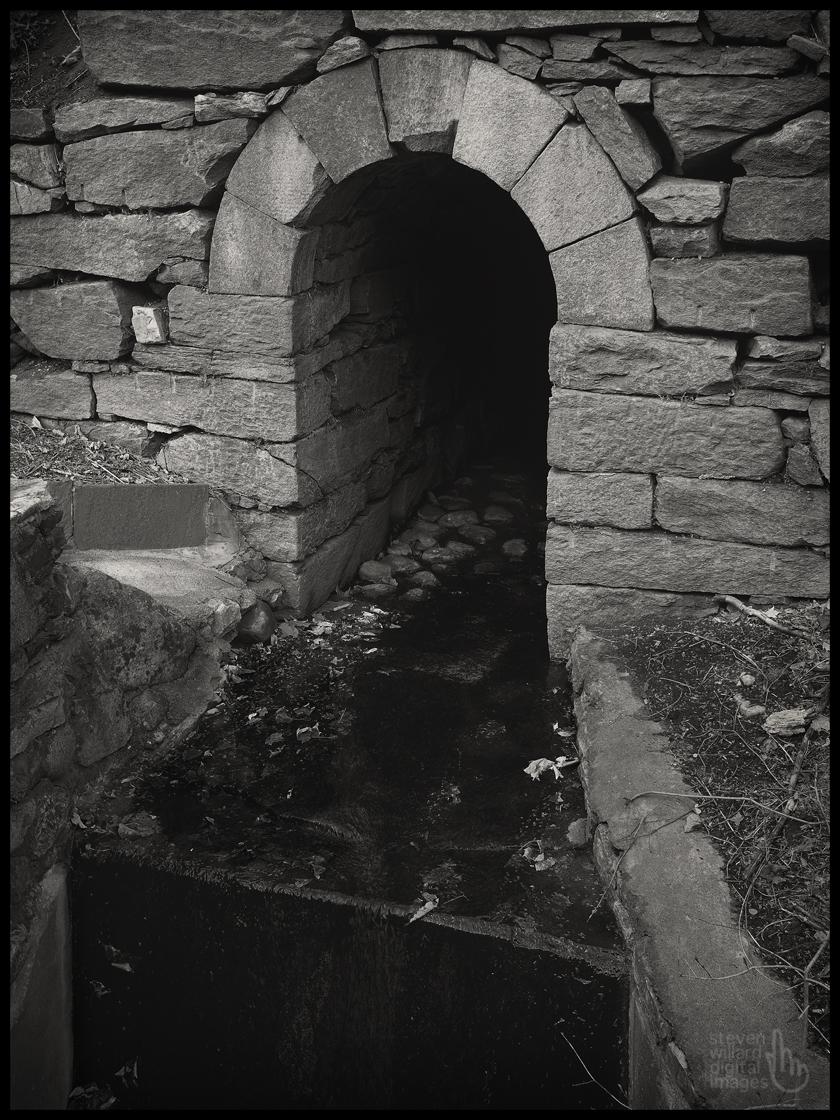 Stone Drain, Brookfield, CT © Steven Willard