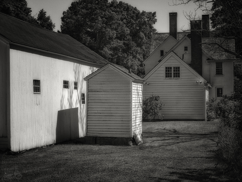 The back of the house, Bethlehem, Connecticut © Steven Willard