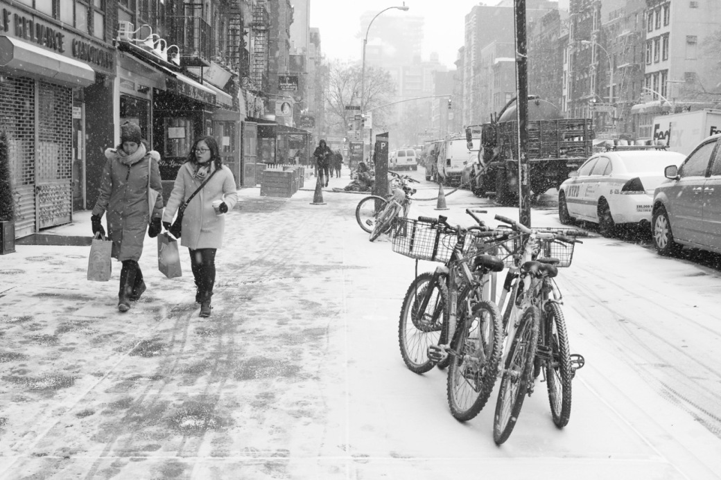 East Village Snow