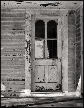 weathered-door