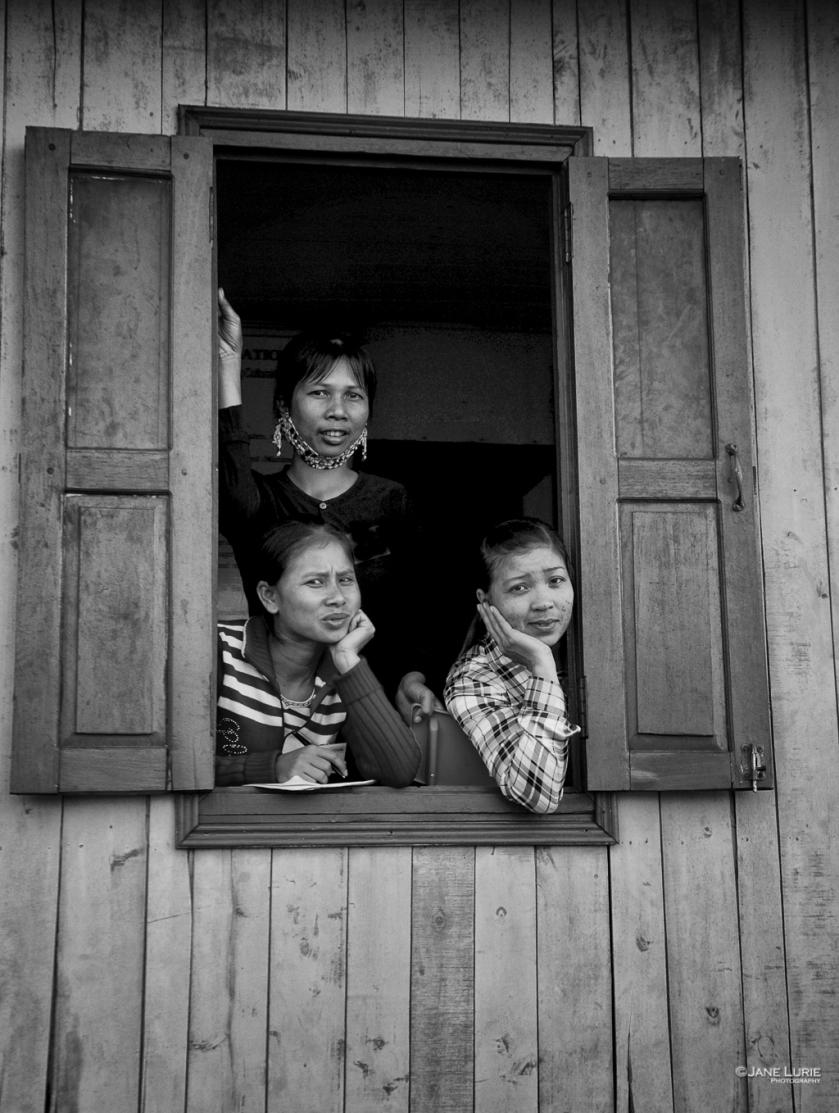 Portrait, Travel, Black and White, Monochrome, SE Asia