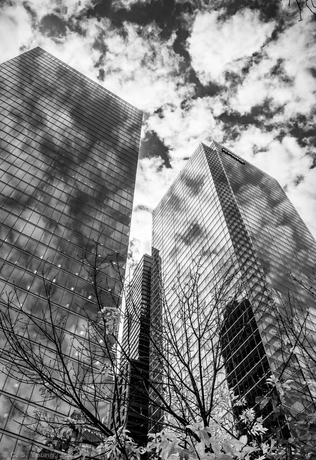 Adelaide St E Architectural Abstract 5 Monochrome