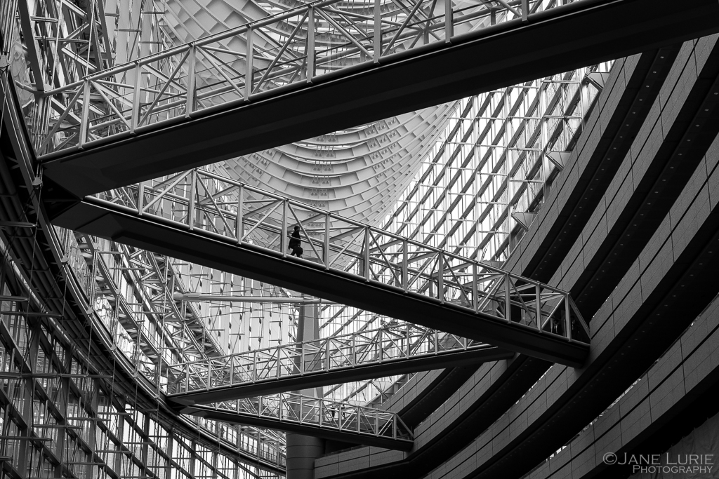 Architecture, Japan, Fujifilm X-T2, Photography, Black and White, Monochrome