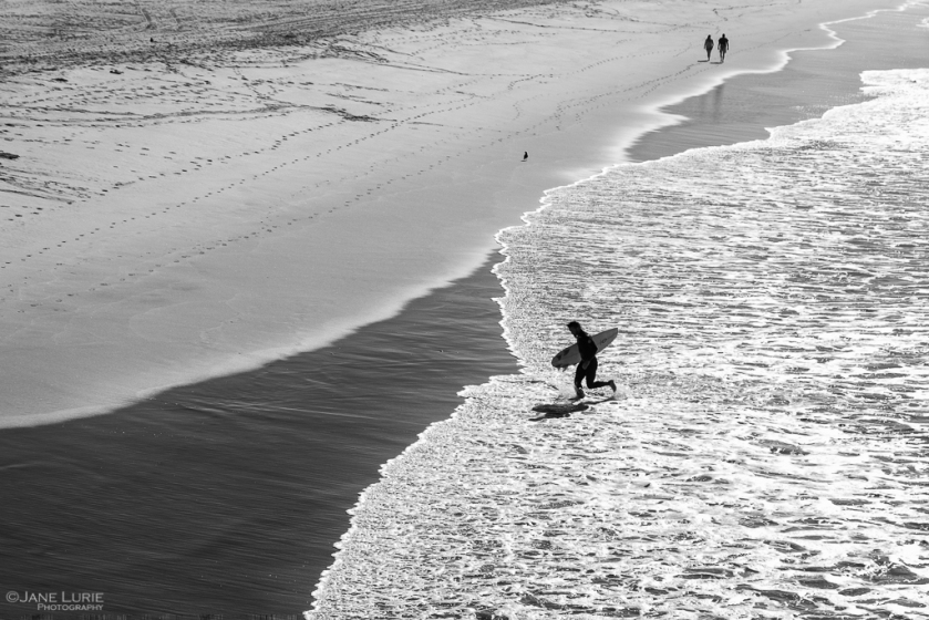 Photography, Black and White, Monochrome, California, Surfing, Fujifilm X-T2, Ocean, Action