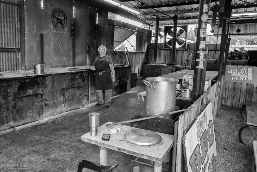 Environmental Portrait, Photography, Black and White, Monochrome, Texas