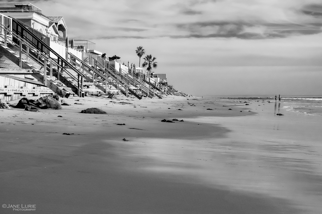 Malibu, Photography, Black and White, Fujifilm X-T2, Landscape, Beach