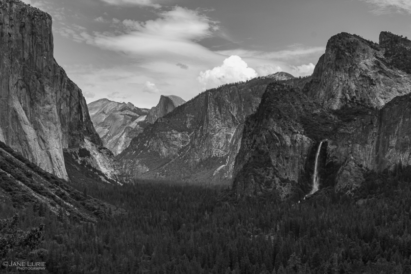 Landscape, Black and White, Yosemite, National Park, Fujifilm X-T2. Photography