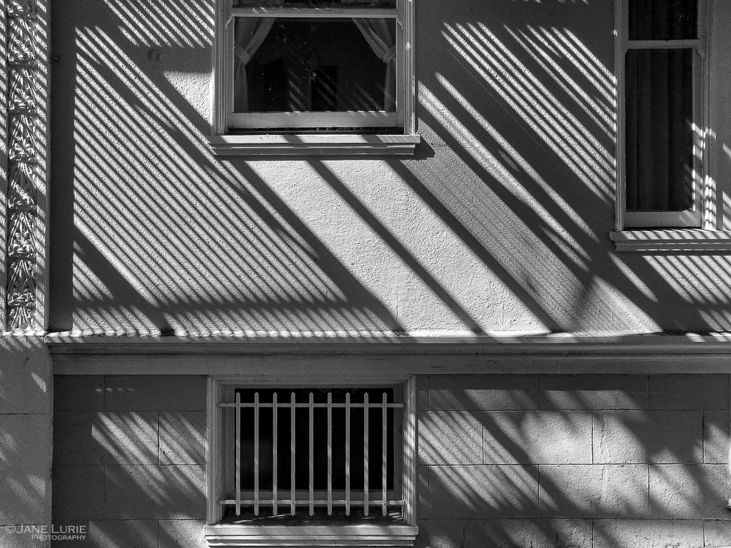Window, Black and White, Shadows