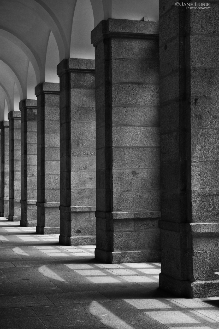 Architecture, Black and White, Photography, Spain, Prado, Madrid