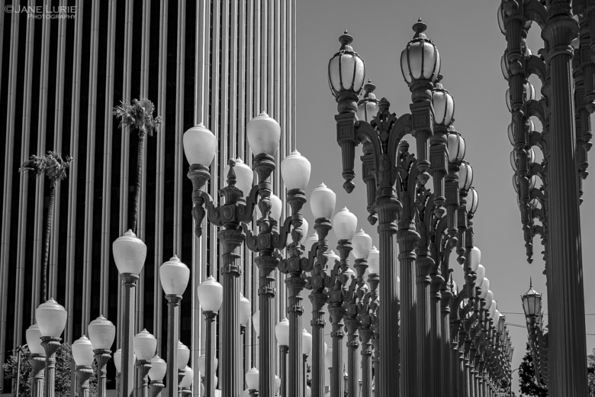 Los Angeles, Art, City, Photography, Black and White