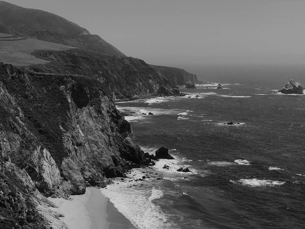 Landscape, California, Big Sur, Fujifilm X-T2, Nature