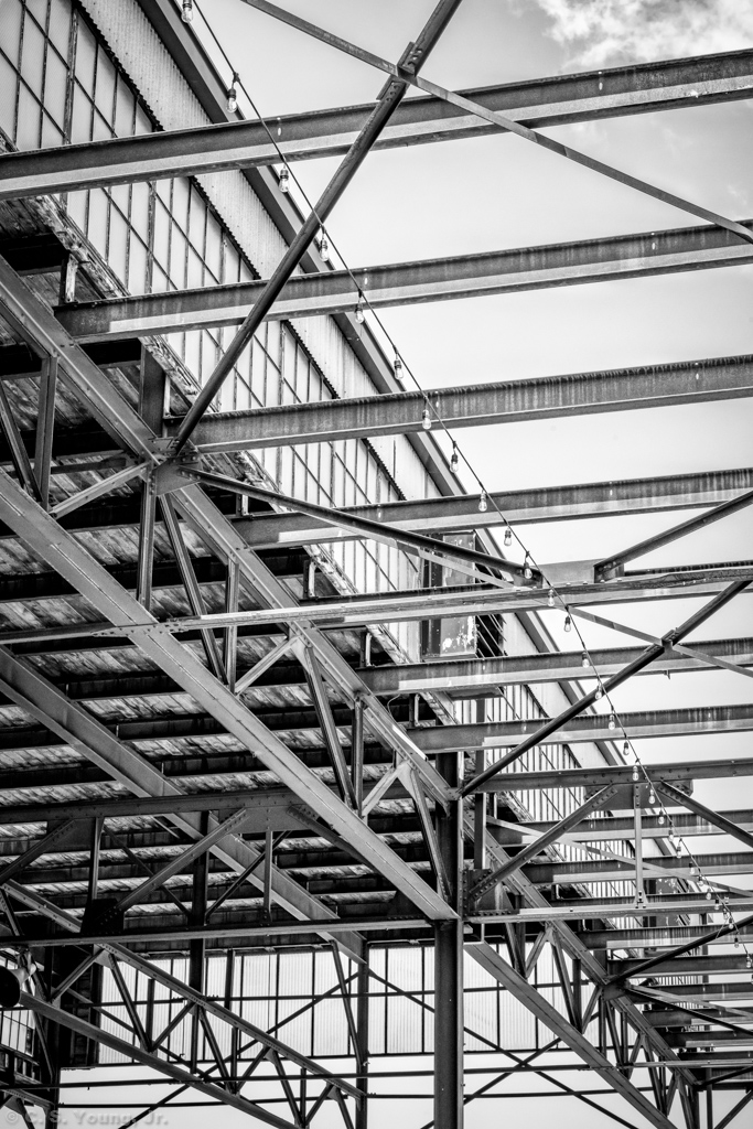 Camp North End Keswick Roof Structure Abstract 3