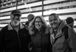 With Joe Giordano, Patricia Fogarty, Rico Rodriguez